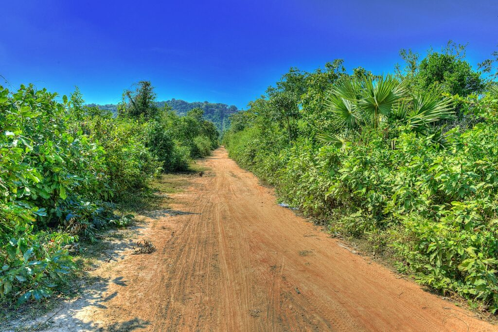 Cambodia - hot climate