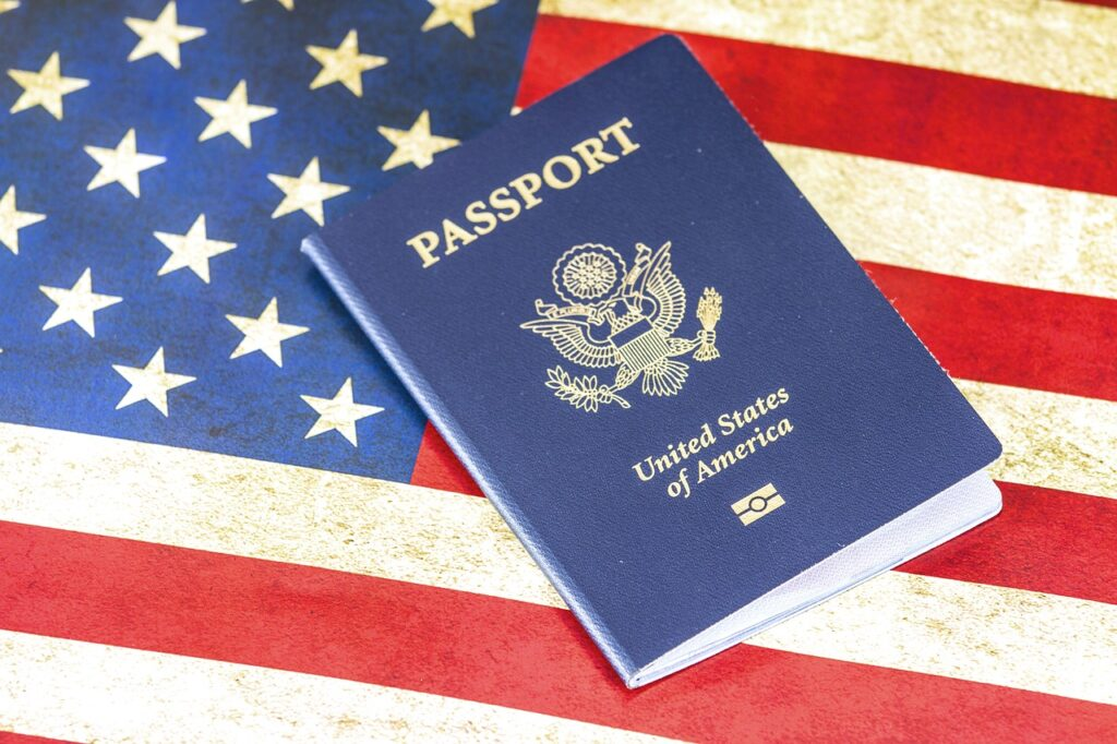 get travel documents to the USA